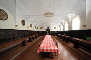 SIM_32 Abbazia di Chiaravalle della Colomba - refettorio